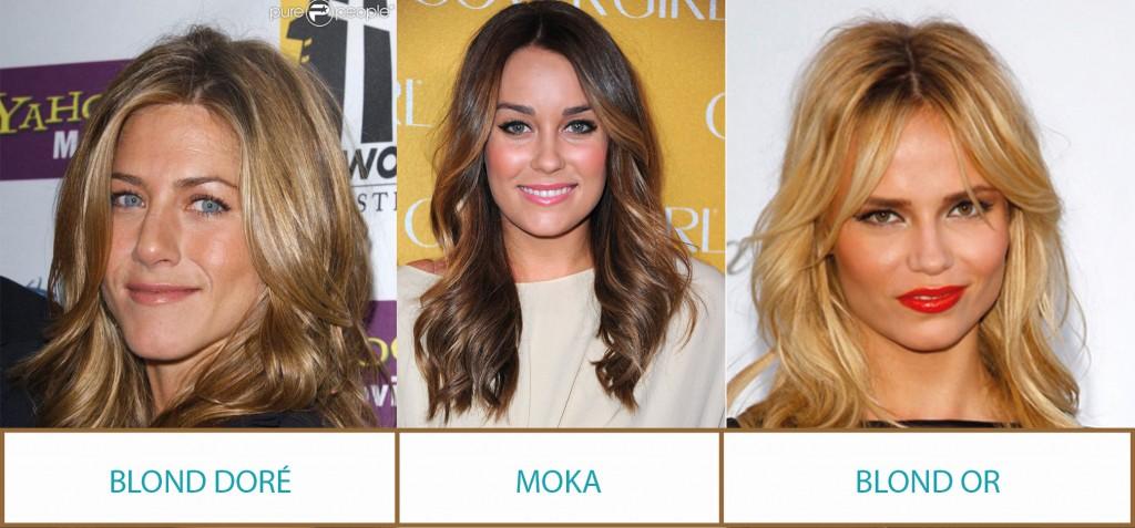conseils cheveux profil couleur printemps - Coloration Blond Fonc Dor Iris